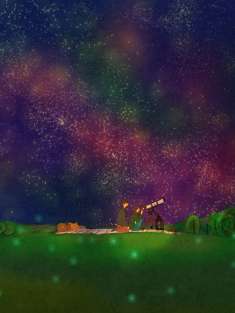We looked at the stars by puuung1