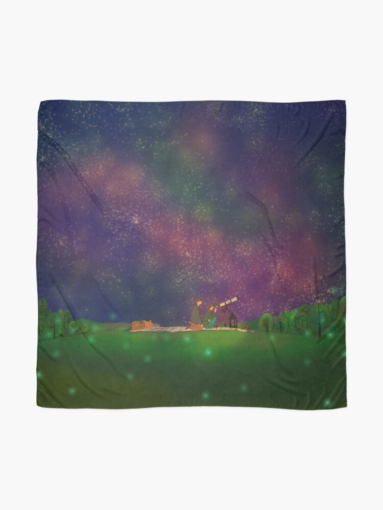 Alternate view of We looked at the stars Scarf