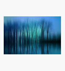 Still Got The Blues For You Photographic Print