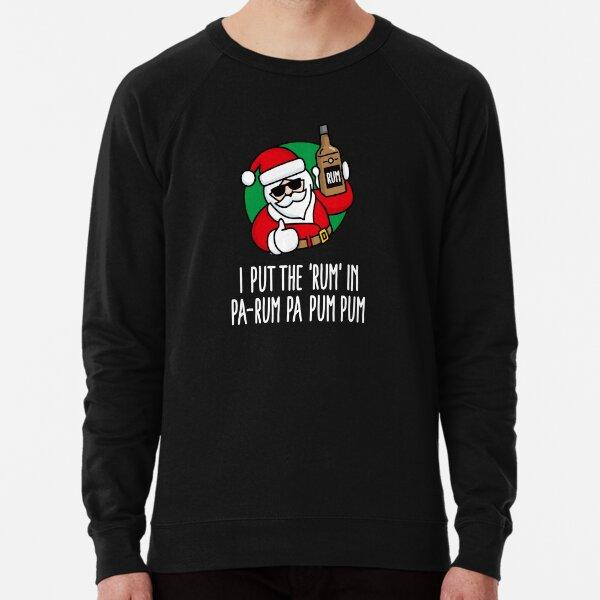 Merry Christmas Pa Rum Drinking Carol Gift Hoodies Sweat Shirts Sweatshirts