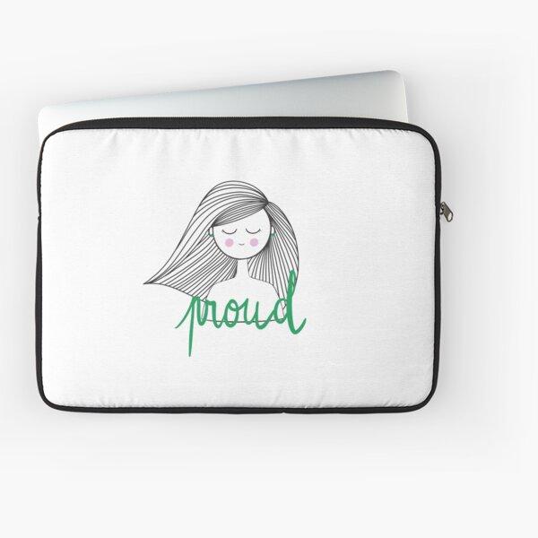 Proud Girl - Girl Power Laptop Sleeve