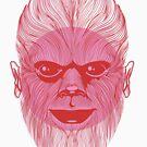 Wolfman by Bizarro Art