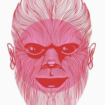 Wolfman by BizarroArt