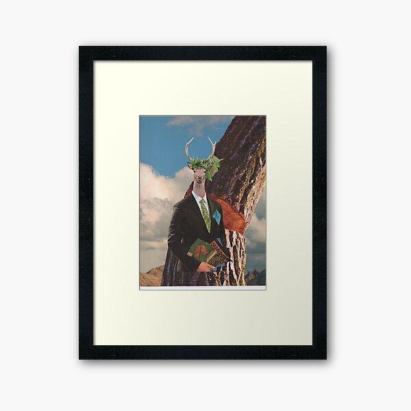 Environmental lawyer Framed Art Print