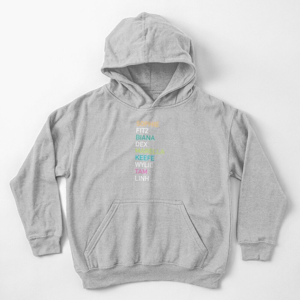 Keeper of the Lost Cities Character Kids Pullover Hoodie