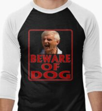 Beware of Barking Man Men's Baseball ¾ T-Shirt