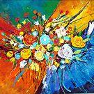colourful bouquet by fehmida haider