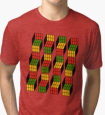 Geek's Cubes Tri-blend T-Shirt