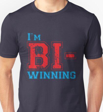 Bi-Winning red/blue T-Shirt