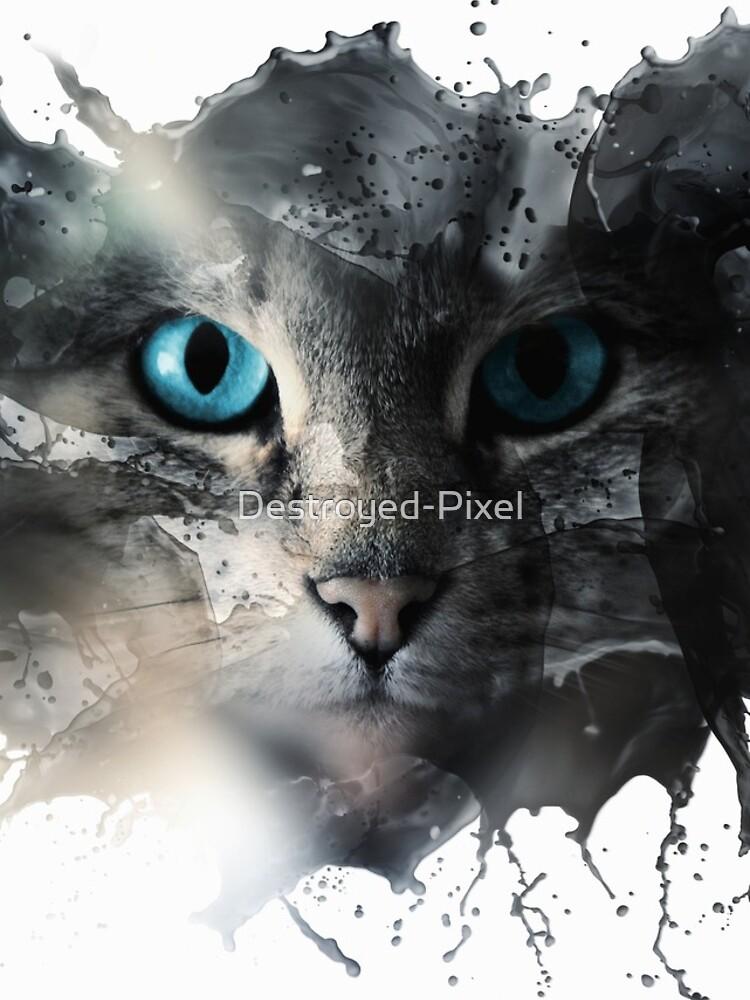 Cat Splash von Destroyed-Pixel