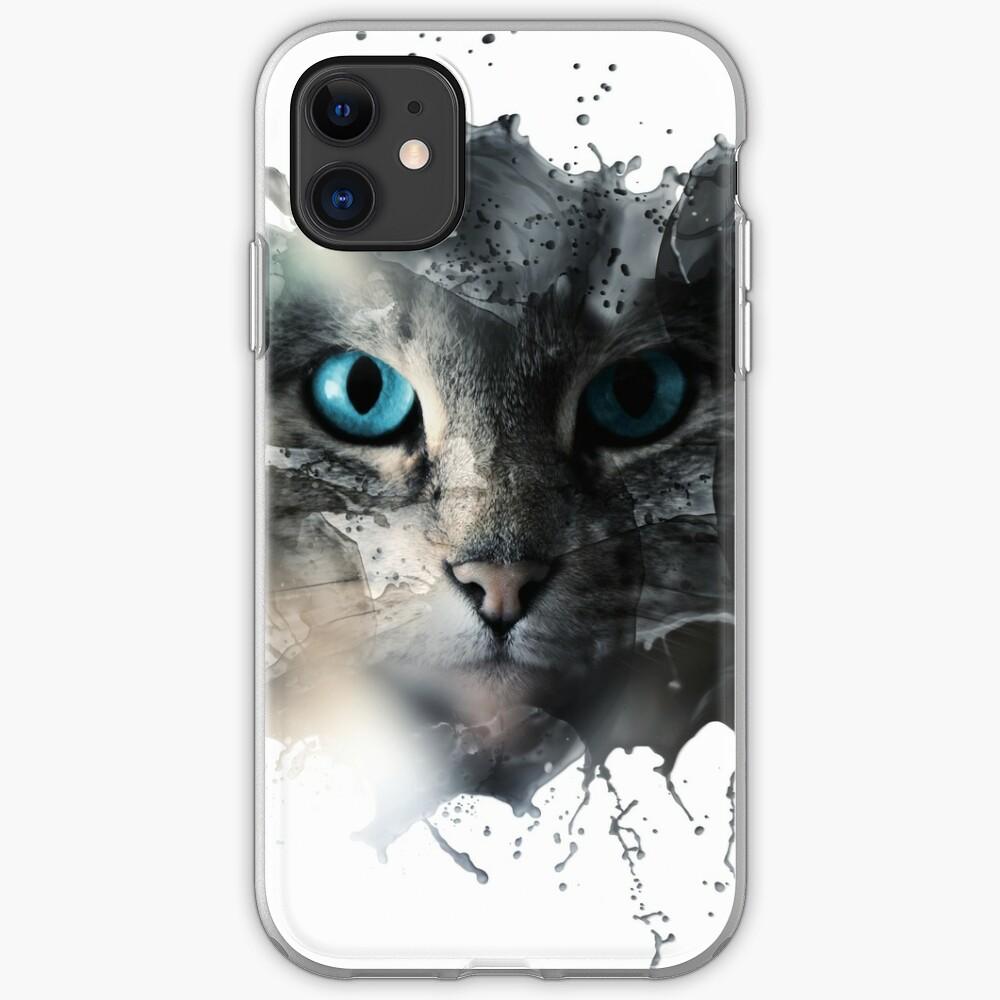 Cat Splash iPhone-Hülle & Cover