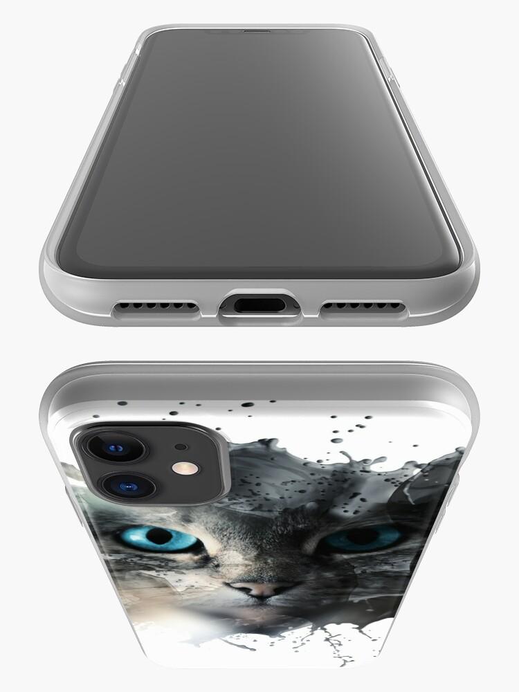 Alternative Ansicht von Cat Splash iPhone-Hülle & Cover