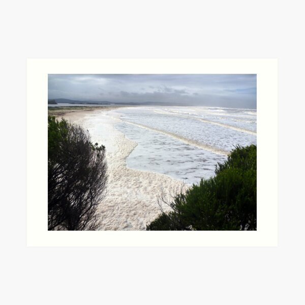 Mallacoota Mouth Art Print