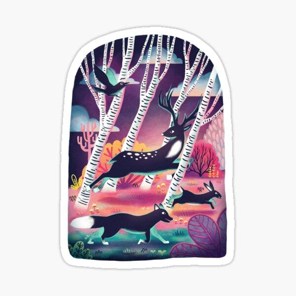 Forest Wildlife Sticker