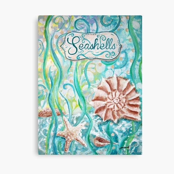 Seashells II by Jan Marvin Canvas Print