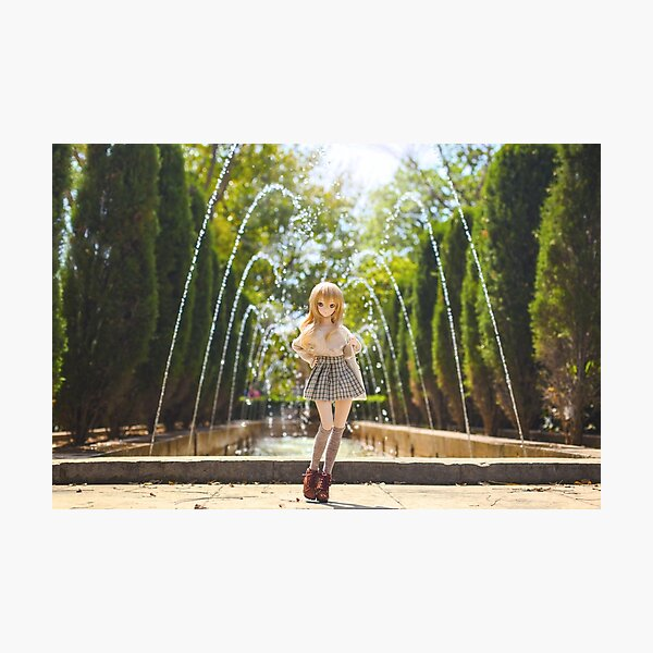 In the park · Coco Photographic Print