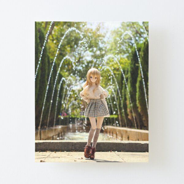 In the park · Coco Canvas Mounted Print