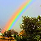 It's just over the rainbow. HDR by TeAnne
