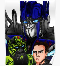 Prime, Ratchet And Sam Poster