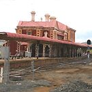 Toowoomba railway station by Murray Swift