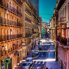 Center of Alicante in Spain by marcopuch
