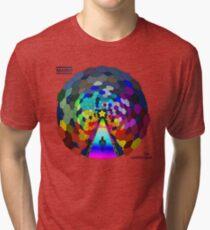 The rainbow road Tri-blend T-Shirt