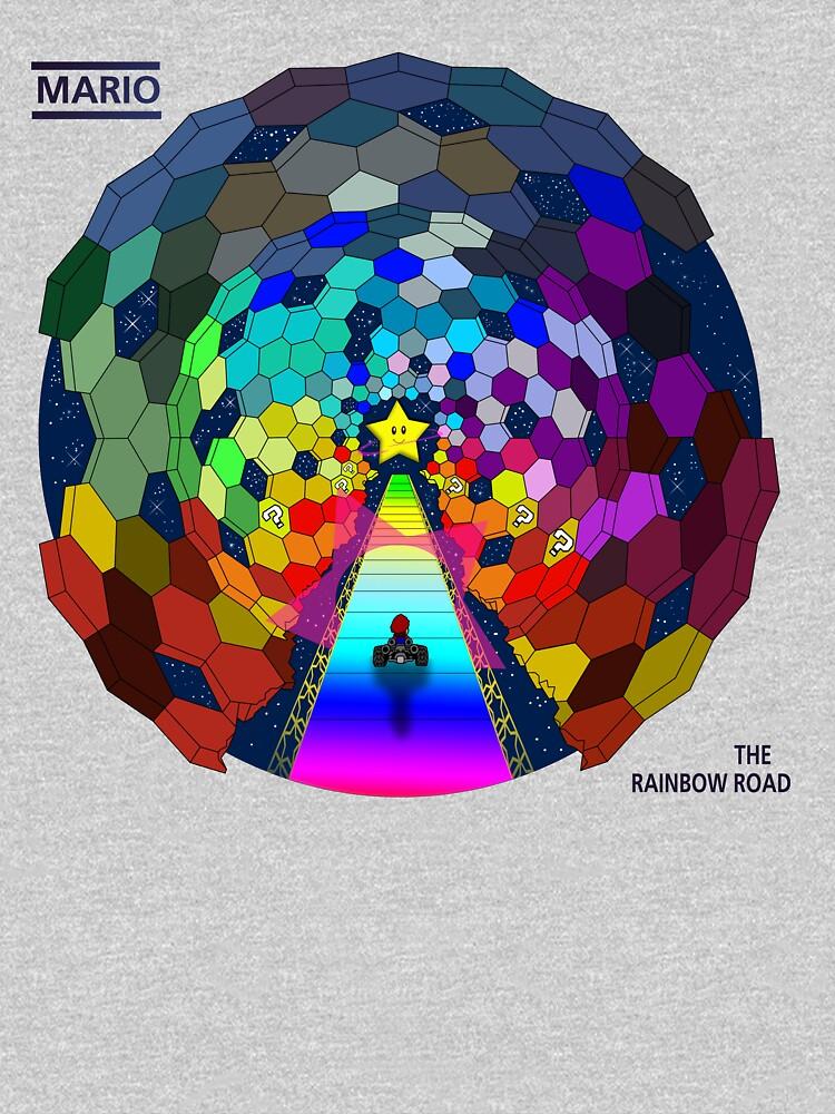 The rainbow road | Unisex T-Shirt