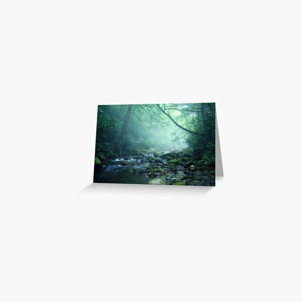 Between Worlds Greeting Card
