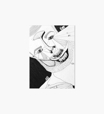 BAANTAL / Hominis ! Faces #12 Art Board Print