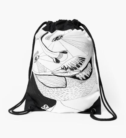 BAANTAL / Hominis ! Faces #12 Drawstring Bag