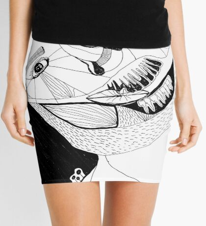 BAANTAL / Hominis ! Faces #12 Mini Skirt