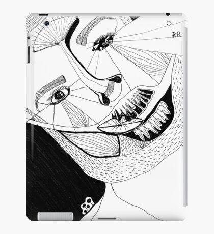BAANTAL / Hominis ! Faces #12 iPad Case/Skin