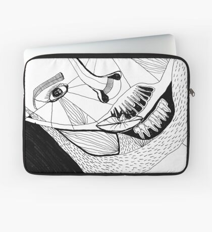 BAANTAL / Hominis ! Faces #12 Laptop Sleeve