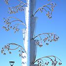 The Metallic Tree sculpture by TeAnne