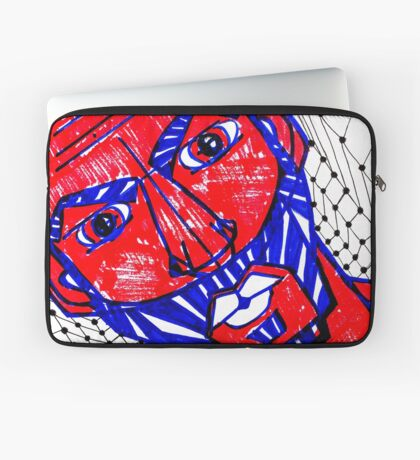 BAANTAL / Hominis / Faces #13 Laptop Sleeve