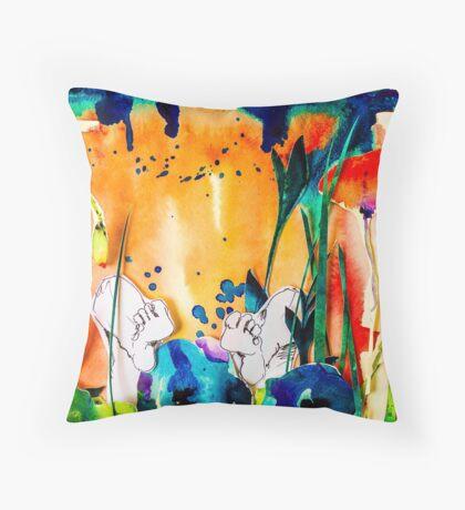 BAANTAL / Pollinate / Evolution #9 Throw Pillow