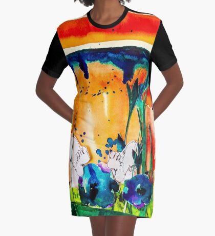 BAANTAL / Pollinate / Evolution #9 Graphic T-Shirt Dress