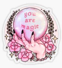 You Are Magic *pink* Transparent Sticker