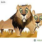 Asiatic Lion by rohanchak
