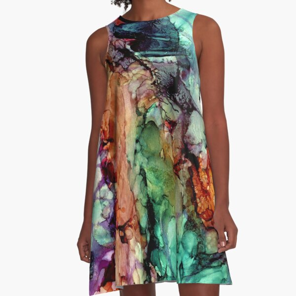 We used to be a garden A-Line Dress