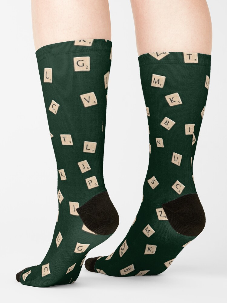 Alternate view of Scrabble Socks