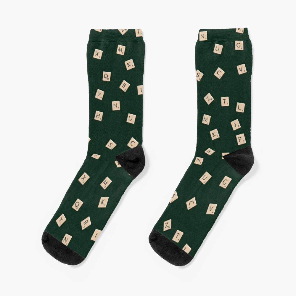Scrabble Socks