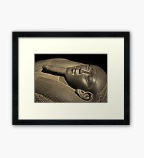 sarcophagus Framed Print