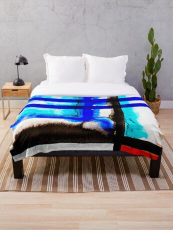 BAANTAL / Lines #5 Throw Blanket
