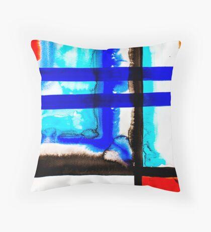 BAANTAL / Lines #5 Throw Pillow
