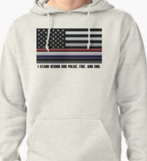 Police Fire EMS Tribute Pullover Hoodie
