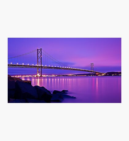 Forth Road Bridge Photographic Print