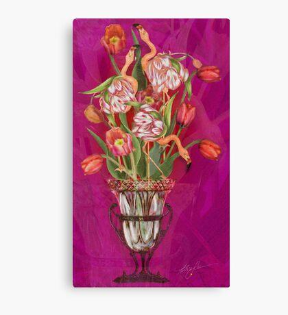 Tip Toeing thru the Tulips Canvas Print
