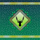 Herne the Hunter - Wildwood Green Fresco by Hypnogoria