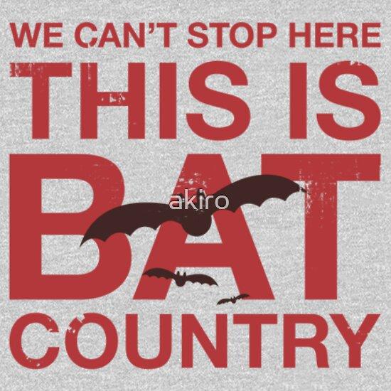 TShirtGifter presents: Bat Country
